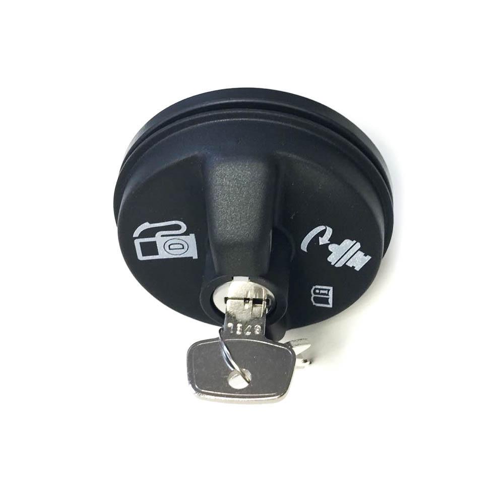 Fuel Tank Filler Cap for Isuzu NPR NPR-HD NQR REACH with Lock (Genuine)